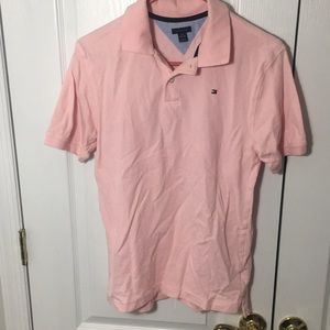 Tommy Hilfiger Pink Polo